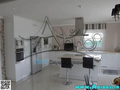 تصویر آشپزخانه ( سفید )